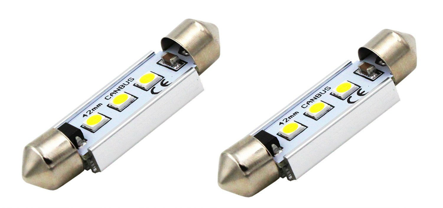 Best Led Interior Lights Ledwatcher How To Build Courtesy Light Alla Canbus 3030 Smd Bulb
