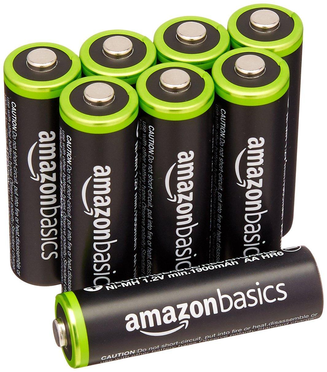 Basics Aa Rechargeable Solar Light Batteries