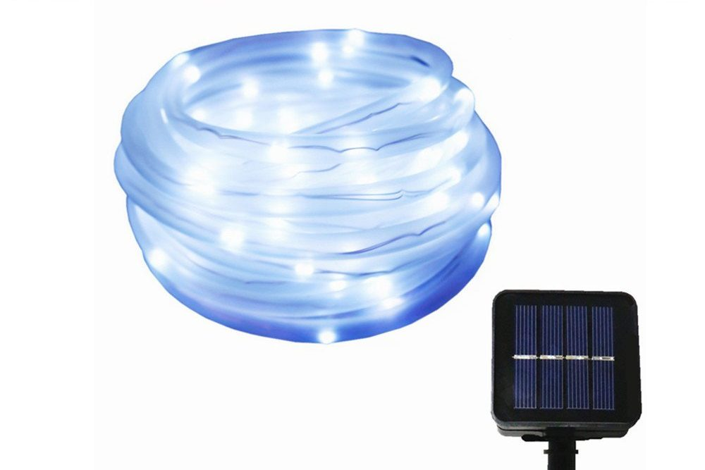Best solar rope lights ledwatcher julyfire solar powered rope lights aloadofball Image collections