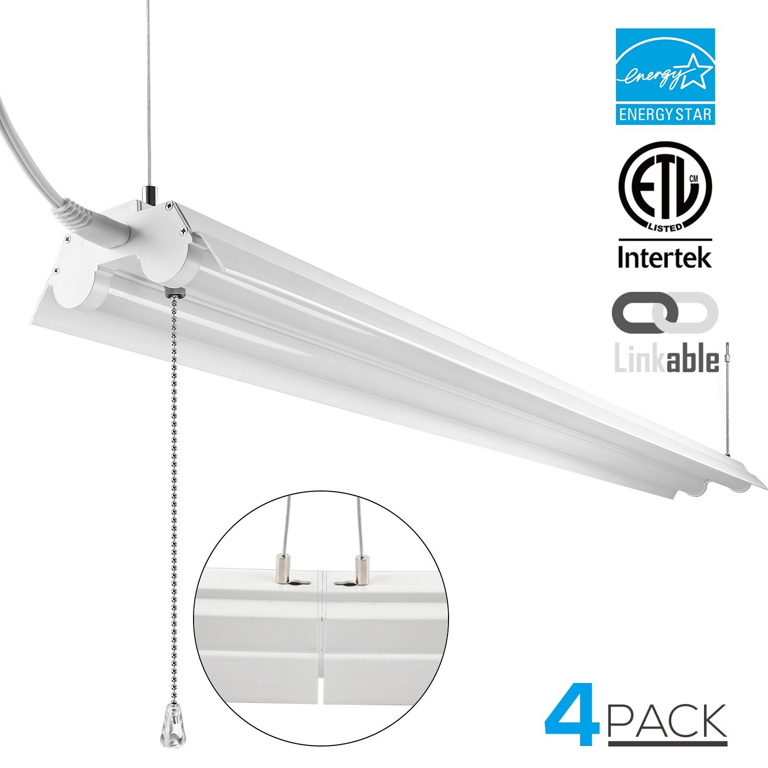 LeonLite Linkable LED Utility Shop Light