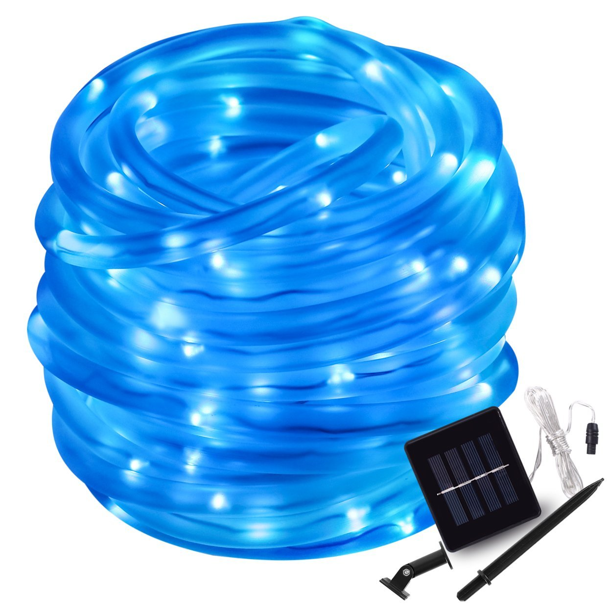 Lighting Even Outdoor Solar Rope Lights