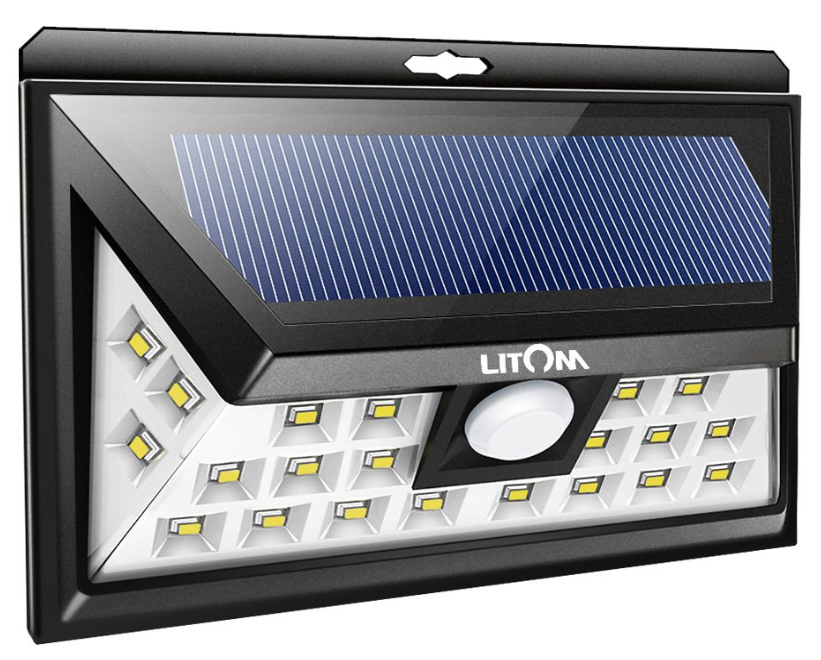 Litom-20-LED-solar-wall-light