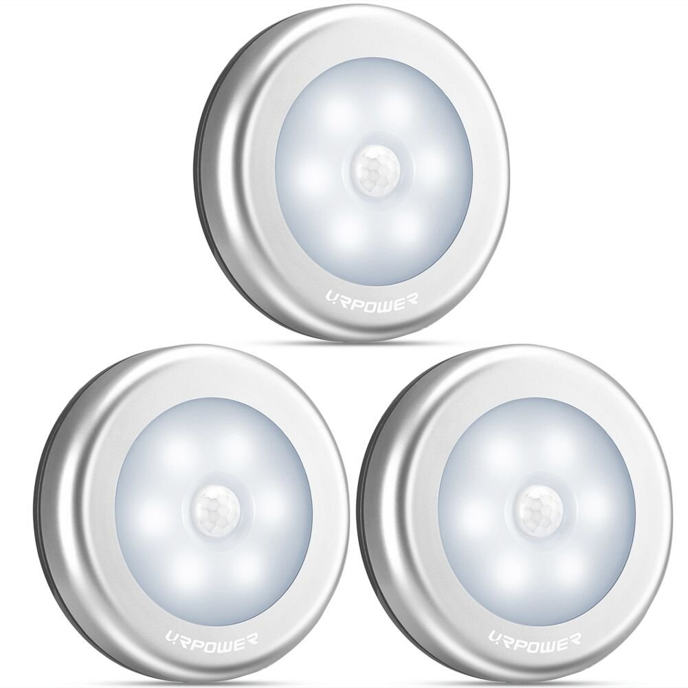 Best Battery Powered Led Lights Ledwatcher Cordless Ceiling Wall Light With Remote Control Switch Urpower Motion Sensor Stick Anywhere