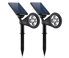 Best solar outdoor lights ledwatcher with being easy to install and able to withstand all weather conditions these urpower solar spotlights are the ultimate tool to illuminate your outdoors aloadofball Gallery
