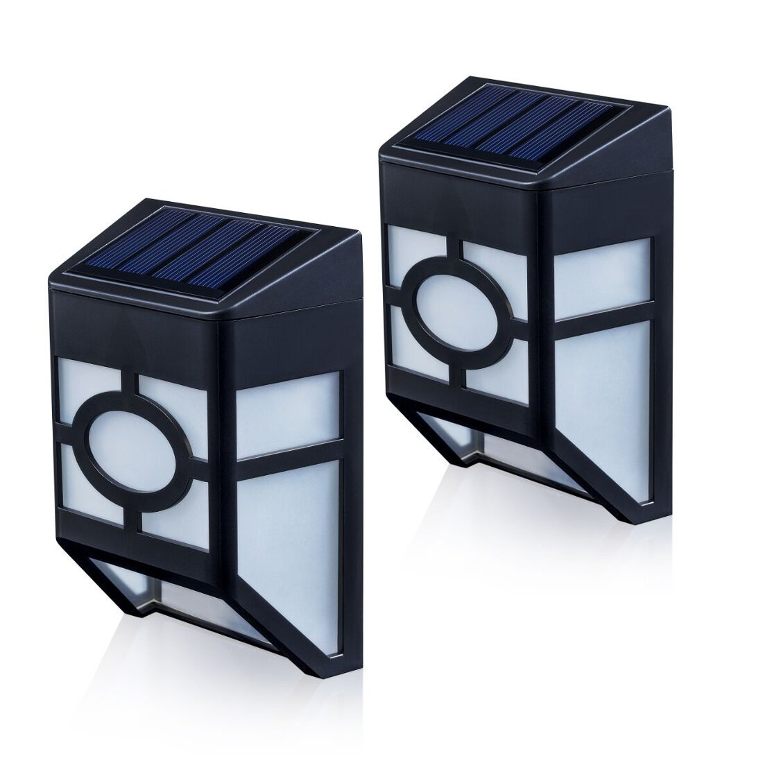 Wall Mounted Solar Spot Lights : Best solar wall and fence lights LEDwatcher