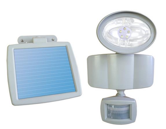 Ni-Cd battery powered solar light