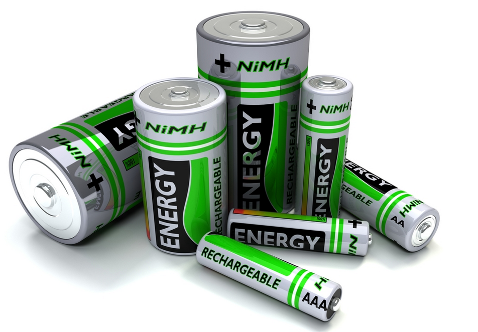 ni-mh battery sizes