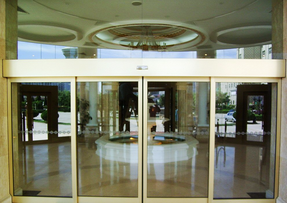 automatic doors with motion sensor