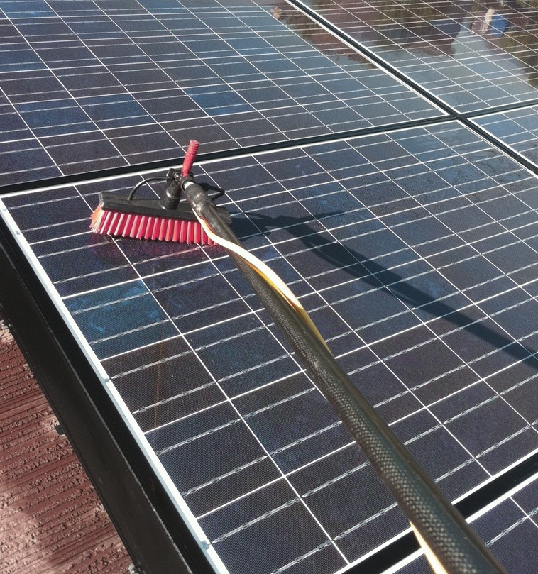 How To Clean Solar Panels Ledwatcher