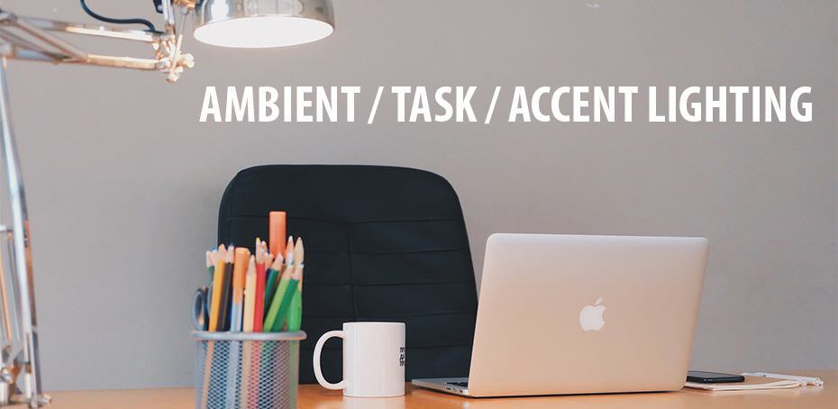Lighting Types In Design Ambient Task And Accent Light