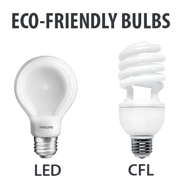 Eco-friendly bulbs