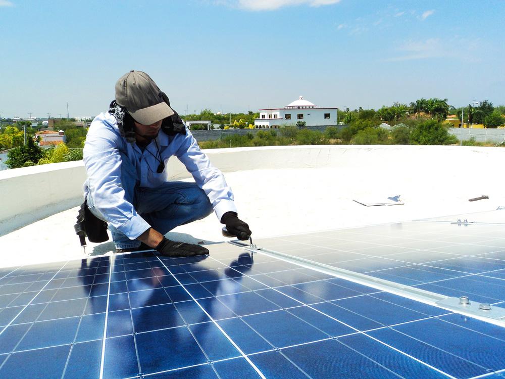 Solar panel protection