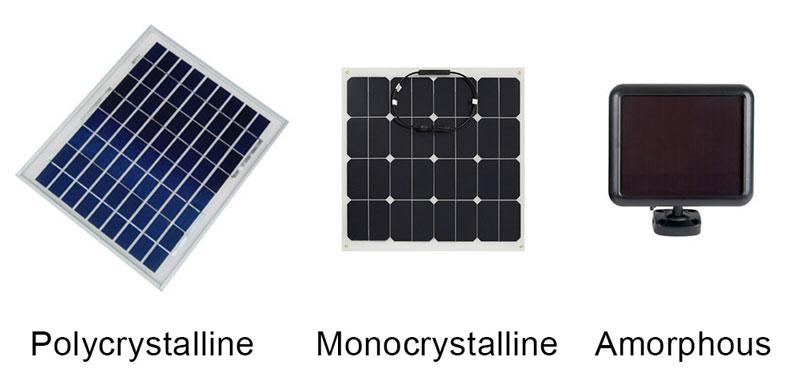 soalr-panel-types
