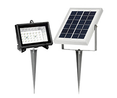 28 LED Diodes, 2W Polycrystalline Solar Panel, 2000 MAh Lithium Ion Battery  And One Of The Best Prices For A Solar Flood Light On The Market.