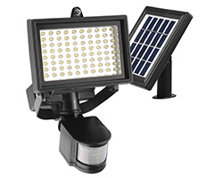 Very Good Specs At A Bargain Price This Solar Flood Lights Has Got Polycrystalline Panel 2000 Mah Lithium Ion Battery Adjustale Mounts And Pir