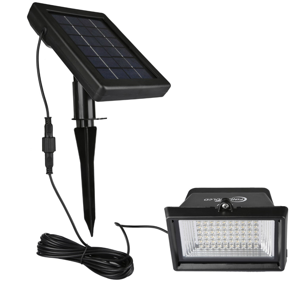 The Findyouled Flood Light Comes With 60 Powerful LED Bulbs That Together  Emit A Maximum Light Output Of 120 Lumens. The Light Emitted Spans An Angle  Of 60 ...