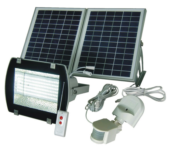Best solar flood lights 2018 ledwatcher solar goes green sgg f156 2r flood light aloadofball Image collections