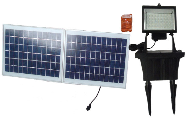 Best solar flood lights 2018 ledwatcher solar goes green sgg f156 3r solar flood aloadofball Image collections