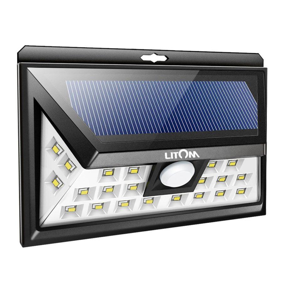Best solar powered security and motion lights ledwatcher litom 24 led outdoor motion sensor solar light aloadofball Choice Image
