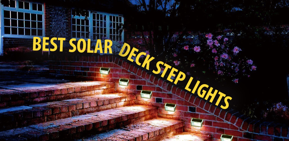 Solar Outdoor Step Lights Best solar deck step lights ledwatcher workwithnaturefo