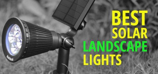 Best Solar Landscape Lighting And Spot Lights