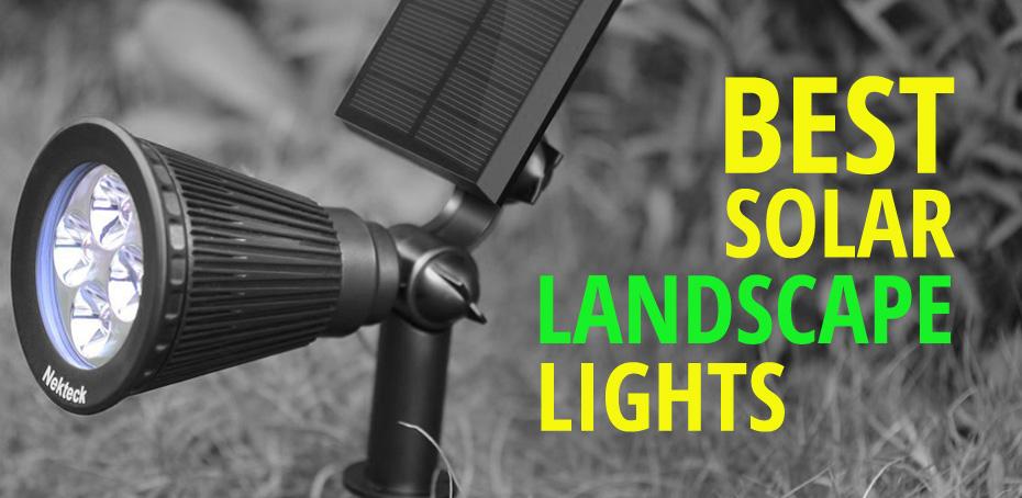 Best solar landscape lighting and spot lights ledwatcher aloadofball Choice Image