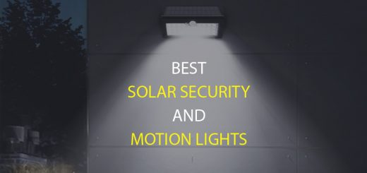 Best solar Motion Lights for security