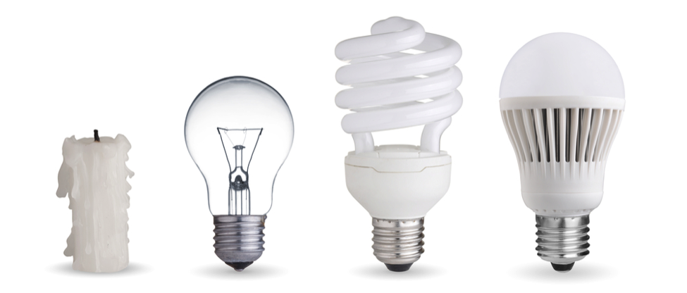 light bulb evolution