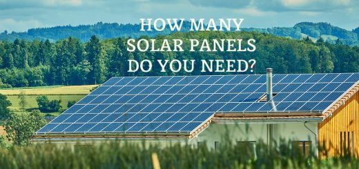 How many solar panels