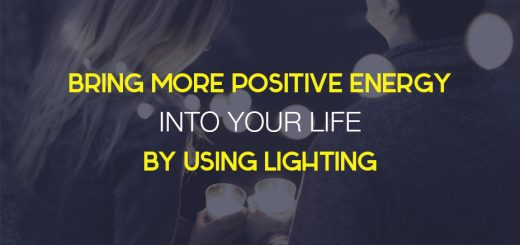 positive energy with lighting