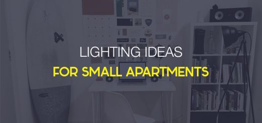 small apartment lighting